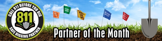safe digging partner of the month